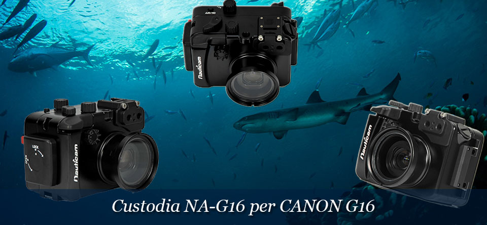 NAUTICAM NA-G16 per CANON G16