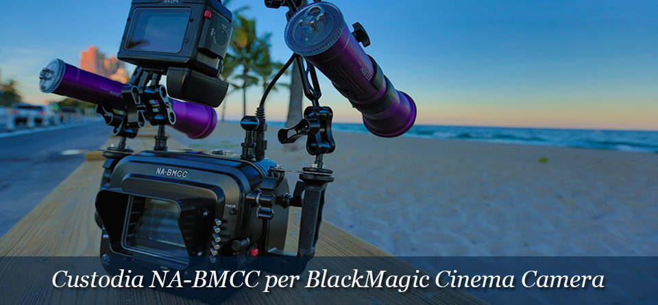 Custodia Nauticam per BlackMagic Cinema Camera