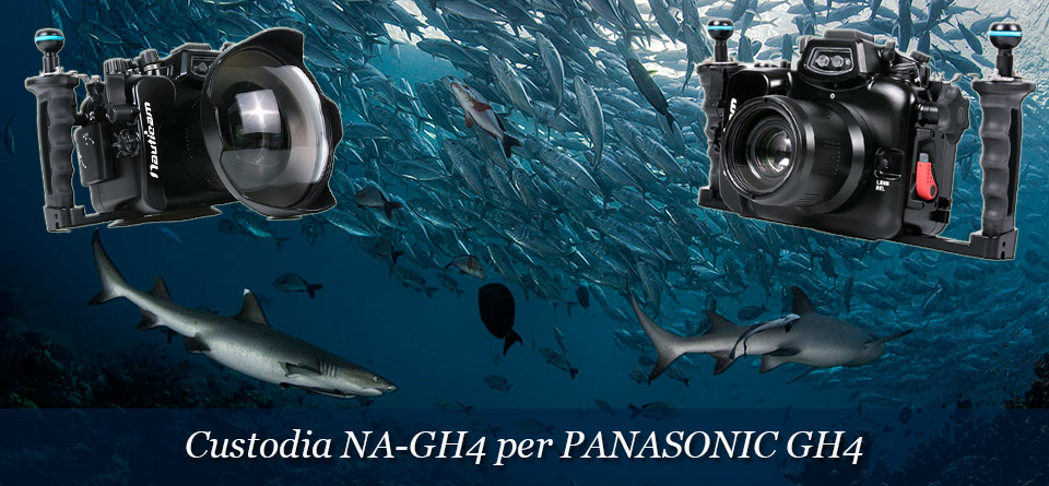 Custodia per Panasonic GH4