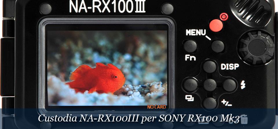 Custodia per Sony RX100 III