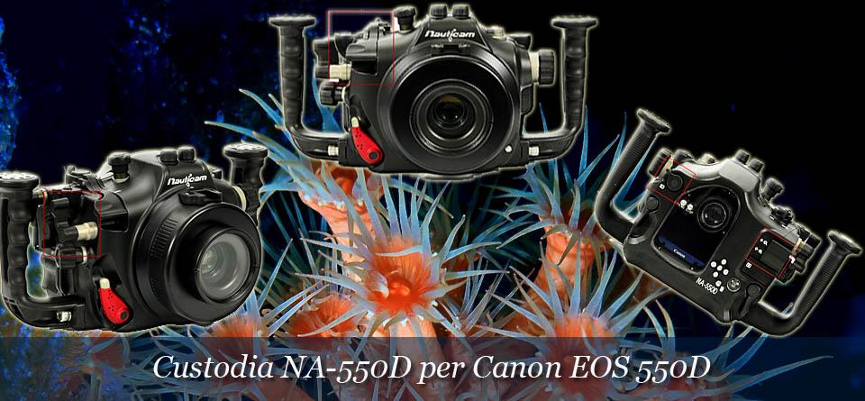 Custodia per reflex CANON 550D